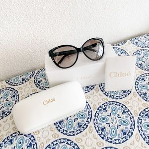 Chloe 59mm Cat Eye Sunglasses NWT